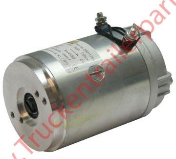 Motor 2kW 24V closed female clockwise