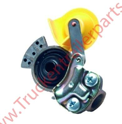 Coupling head Emerge M16 yellow