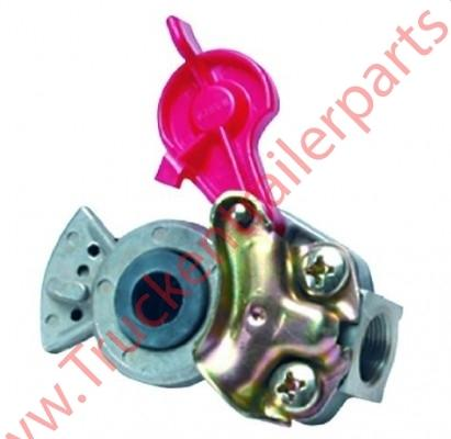 Coupling head Emerge M16 red