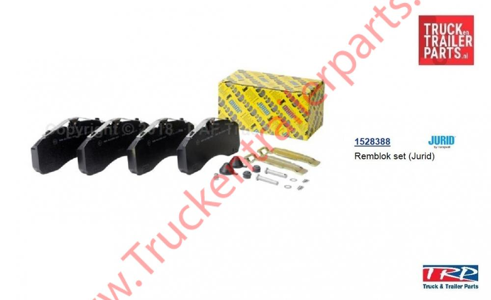 Set brake pad  TRP  Jurid539