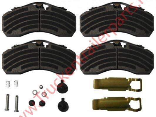Brake Pad Kit Knorr Jurid 539-39