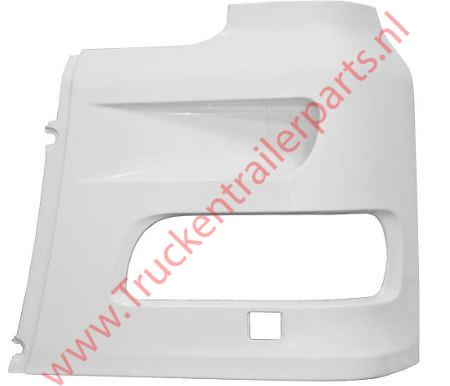 Front plate Headlamp left XF95/XF105