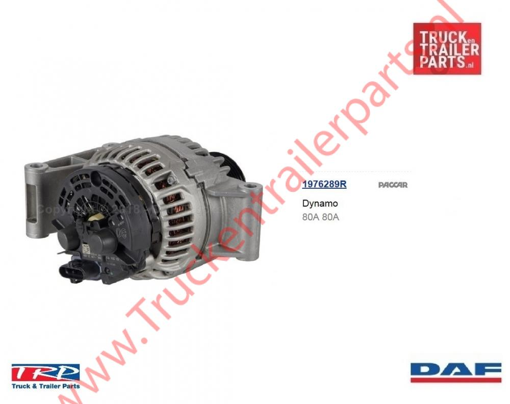 Alternator DAF euro6 80 ampere
