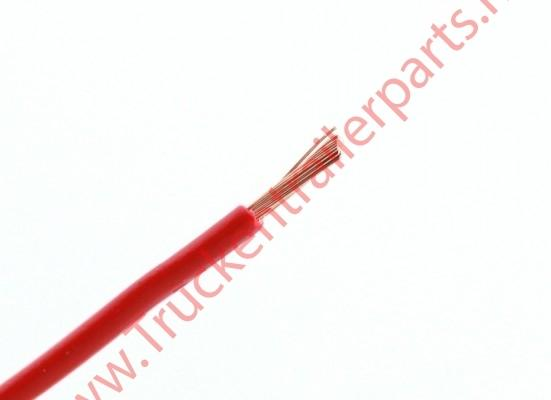 100 mtr single core cable 0.75mm red