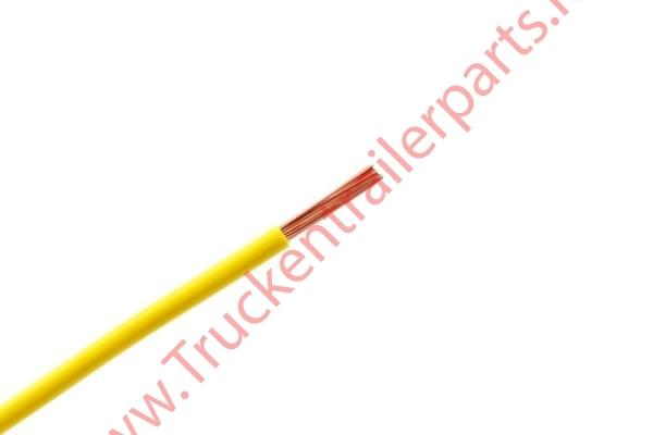100 mtr single core cable 1.5mm yellow